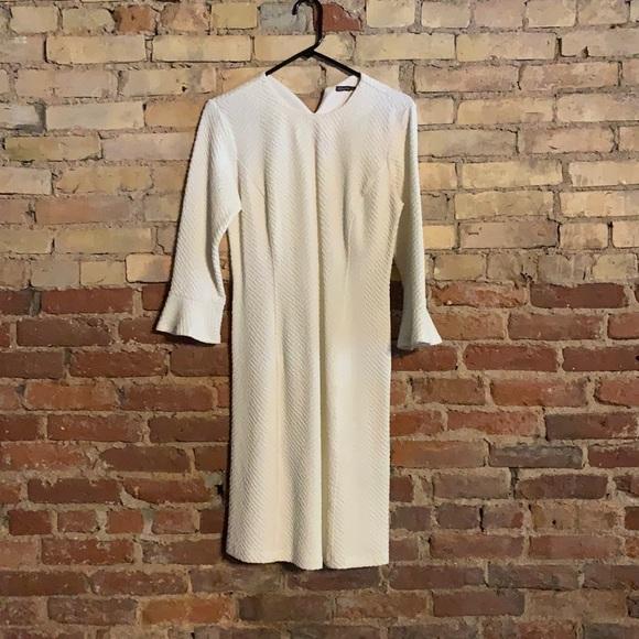 J. McLaughlin Cream Dress